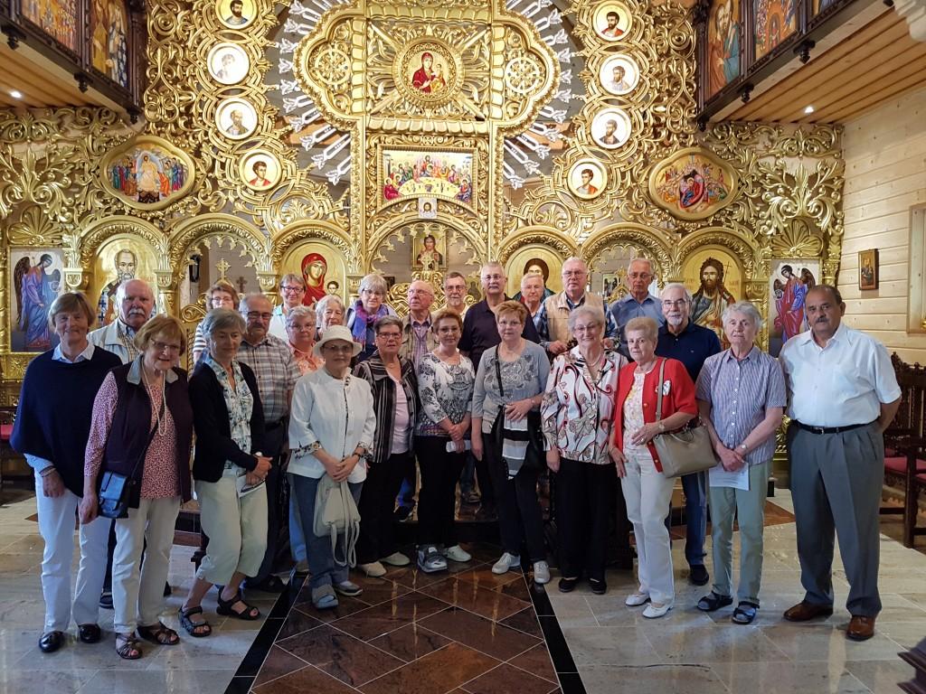 12.05.2018 - Vizita grupului mixt, de la Parohia catolica St. Philipp Neri si Münchner Volkshochschule